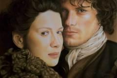 Claire & Jamie door Genevieve Lumeij