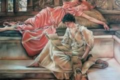 Studie - kopie naar Alma Tadema